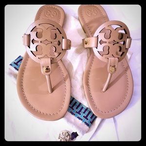 Tory Burch Miller Thong Sandals - NWOB